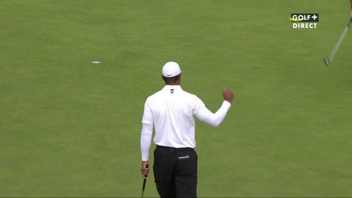Sublime birdie de Tiger Woods