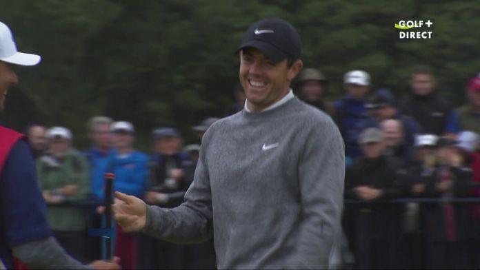 Premier birdie pour Rory !