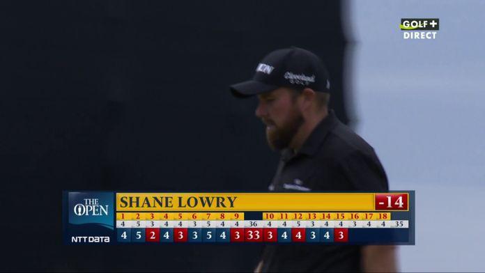 Shane Lowry enfonce le clou et passe à -14