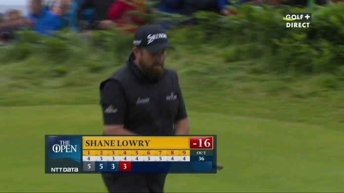 Premier birdie de la journée pour Shane Lowry