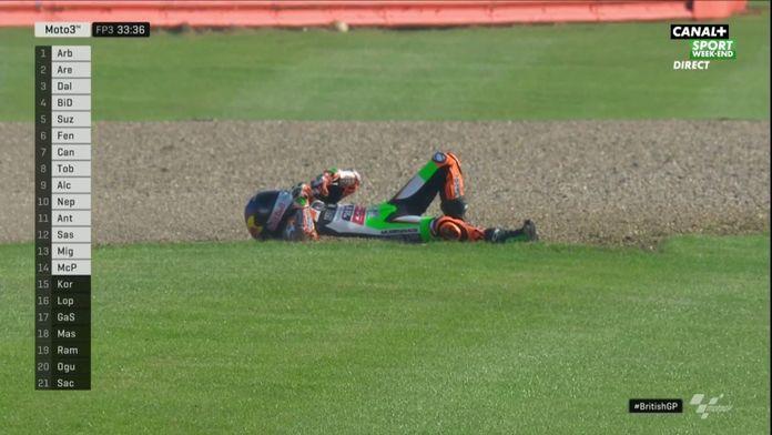 Masaki chute encore lourdemment