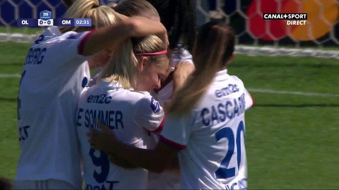 D1 Arkema - 1ère journée - OL / OM : Les Lyonnaises ouvrent le score dès la 2ème minute !