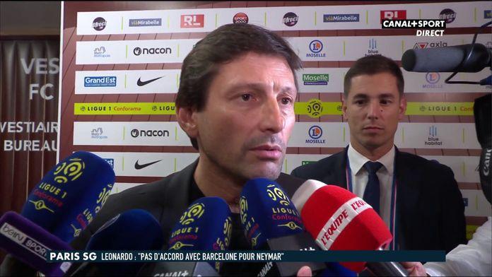 La déclaration complète de Leonardo après Metz / PSG