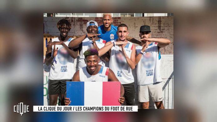 """La clique du jour : """"La Toho"""", les champions du foot de rue"""