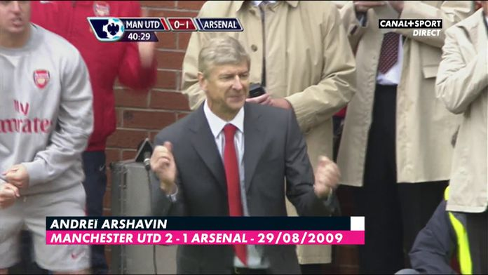 Le top buts des Manchester United / Arsenal