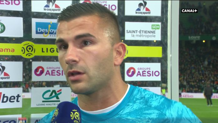 "Anthony Lopes : ""C'est plus que difficile"""