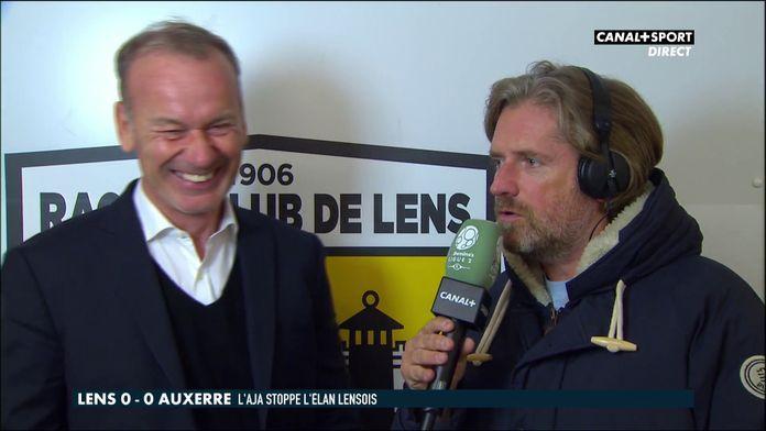 Lens / Auxerre : Les réactions des coaches