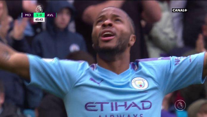 Sterling ouvre le score pour City