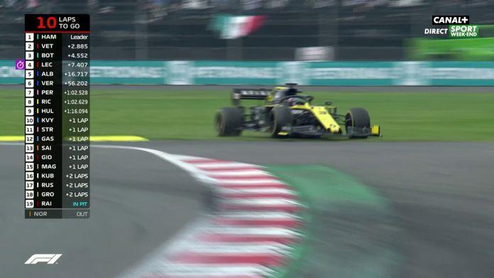 Ricciardo part à la faute