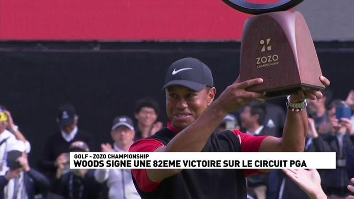 82ème titre pour Tiger Woods