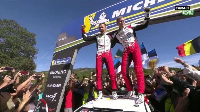 Ott Tänak devient Champion du Monde de WRC !