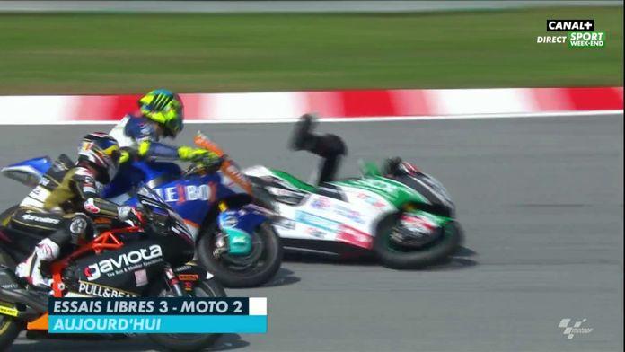 Retour des FP3 de la Moto2