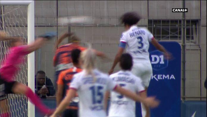 Ouverture du score de Wendie Renard sur corner