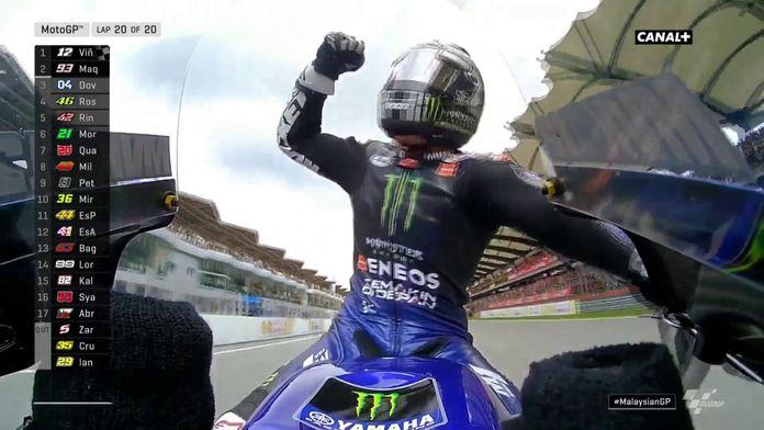 Viñales remporte le Grand Prix de Malaisie !