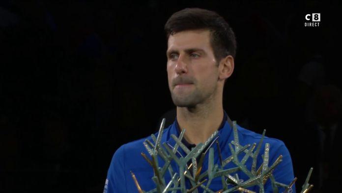 La réaction du champion Novak Djokovic !