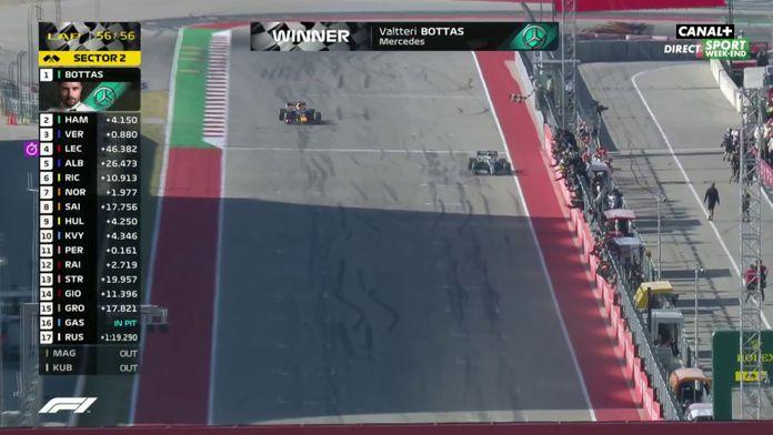 Bottas s'impose, Hamilton champion du monde !
