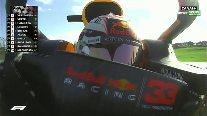 La pole pour Verstappen au Brésil !