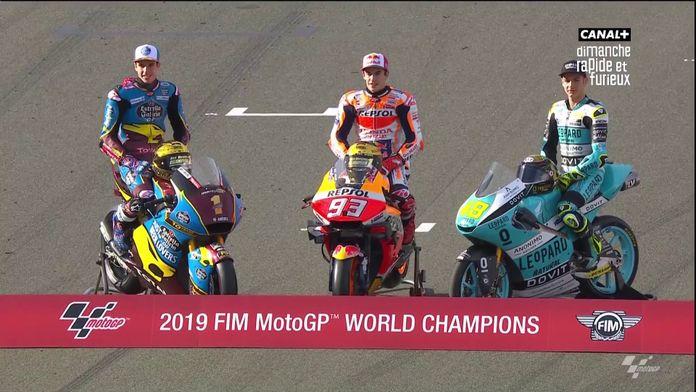 Une réunion de champions du monde !