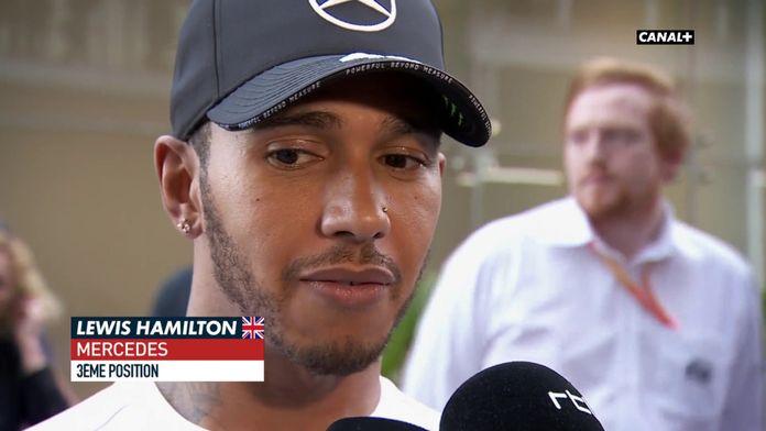 """Lewis Hamilton : """"Les conditions climatiques vont beaucoup jouer"""""""