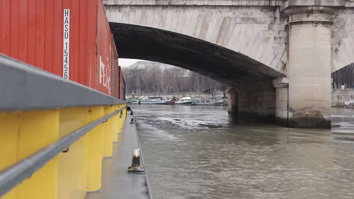 Paris en péniche