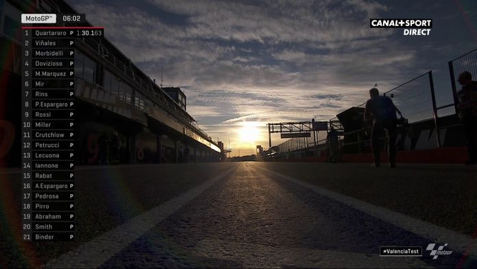 Fabio Quartararo en pole des essais