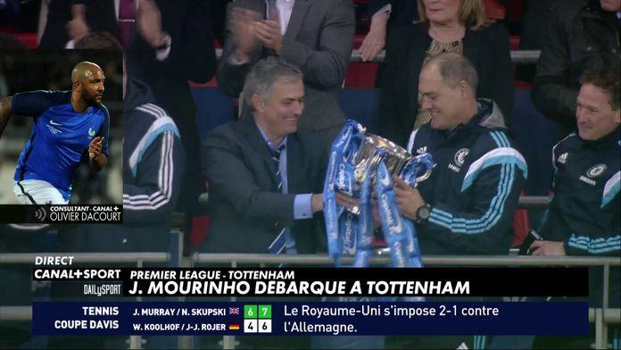 Olivier Dacourt analyse l'arrivée de José Mourinho chez les Spurs