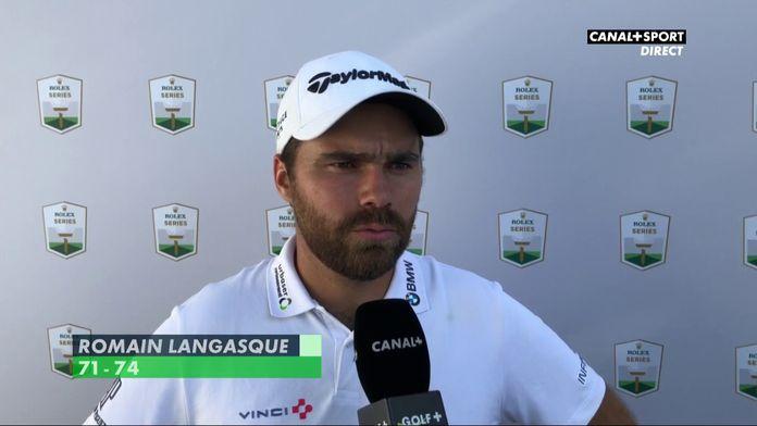 Romain Langasque après son second tour
