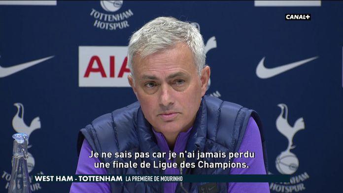 Les meilleurs moments de la conf de presse de José Mourinho