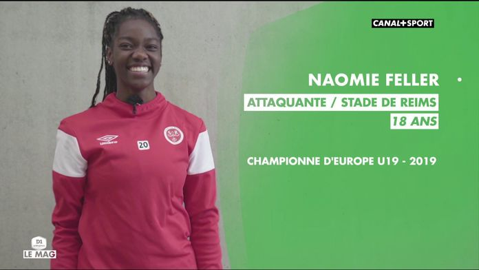 Portrait de Naomie Feller, jeune espoir du foot féminin