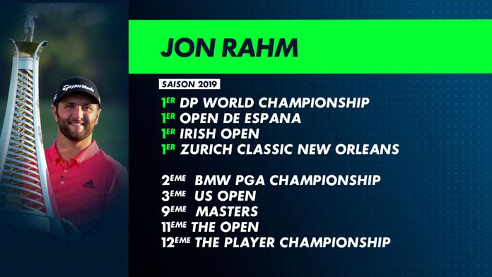 Jon Rahm une saison en or