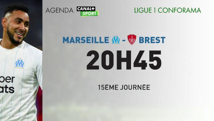 Marseille affronte Brest ce soir sur CANAL+SPORT