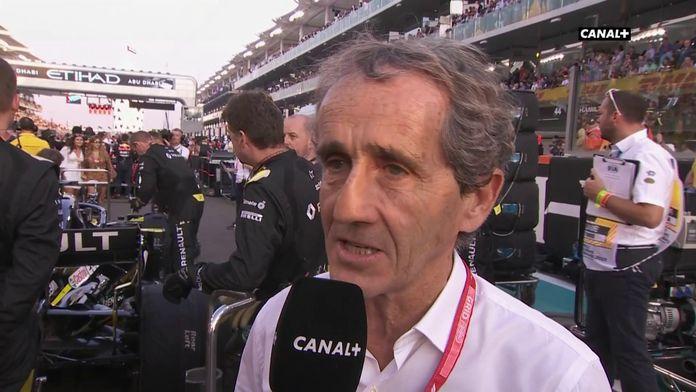 """Alain Prost : """"Finir sur une bonne note"""""""