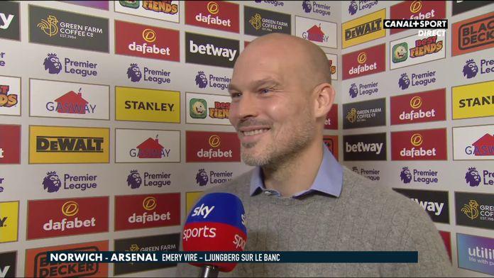 Les mots de Freddie Ljungberg avant son premier match sur le banc d'Arsenal