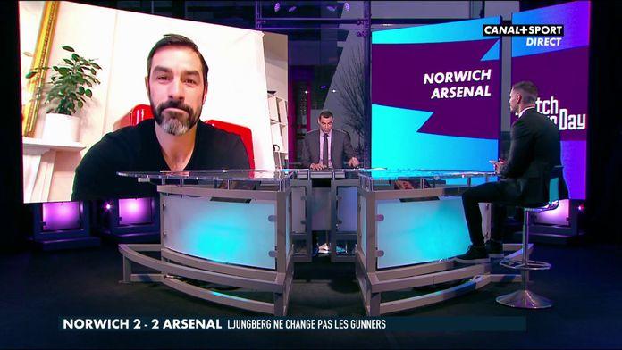 L'analyse de Robert Pirès sur Norwich - Arsenal