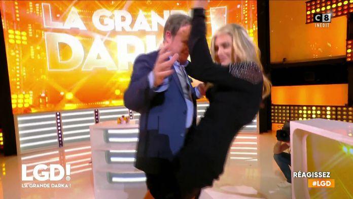 La danse endiablée entre Clara Morgane et Fabien Lecoeuvre
