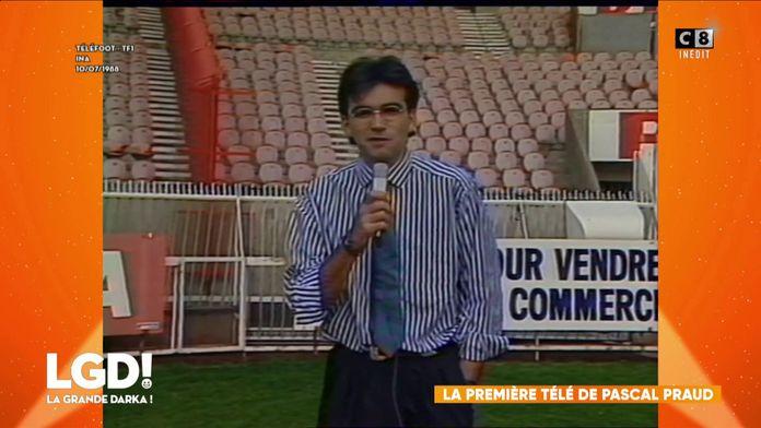 La première apparition télé de Pascal Praud