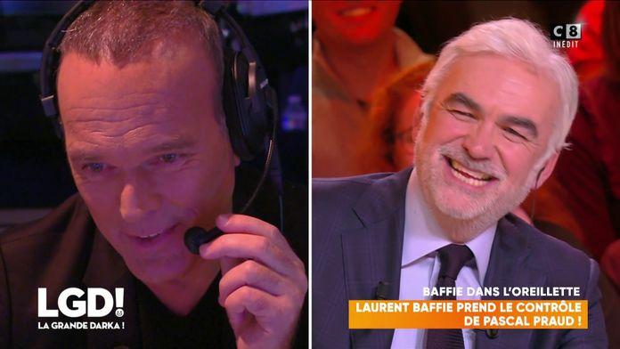 Laurent Baffie prend le contrôle de Pascal Praud