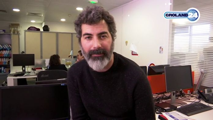 Franki ki reporter de manifs - Groland - CANAL+