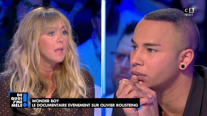 """Enora Malagré à Olivier Rousteing : """"Vous êtes narcissique et ce n'est pas un défaut"""""""