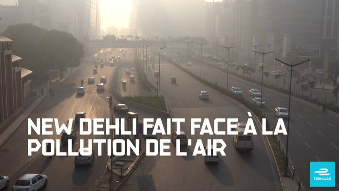 FIA Formule E - The Race for Clean Air - New Delhi