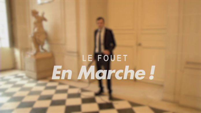 """Le fouet """"En Marche"""" - Groland - CANAL+"""