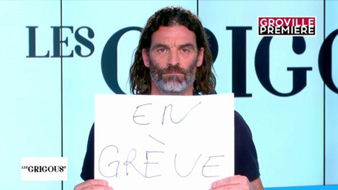 Les Grigous et Xavier Mathieu sont en grève - Groland - CANAL+