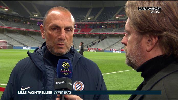 Michel Der Zakarian se confie avant Lille / Montpellier