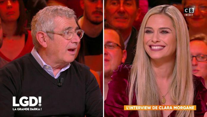 L'interview de Clara Morgane face à Michel Boujenah