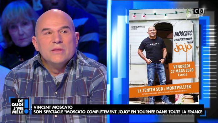 """Vincent Moscato sur les planches : """"Moscato complètement jojo"""""""