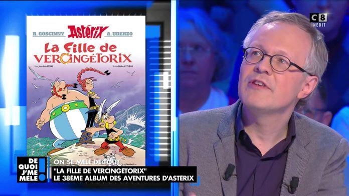 """""""La fille de Vercingétorix"""" Le 38ème album des aventures d'Astérix"""