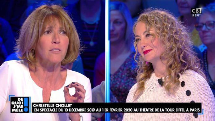 """Catherine Rambert à Christelle Chollet : """"Avant de voir votre spectacle, je ne vous connaissais pas"""""""