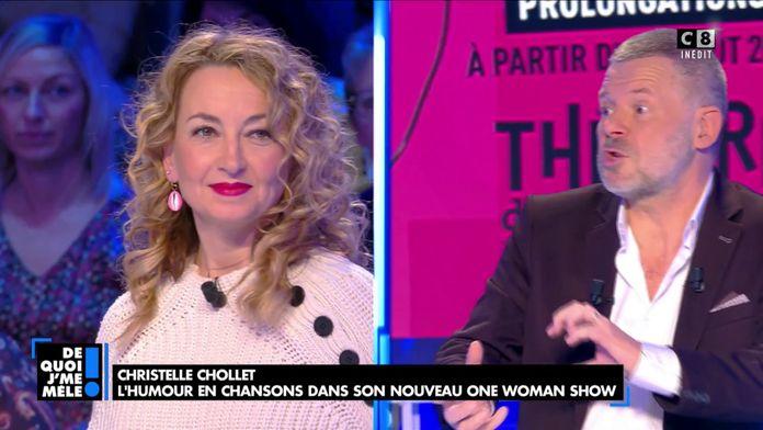 Christelle Chollet : L'humour en chansons dans son nouveau One Woman Show