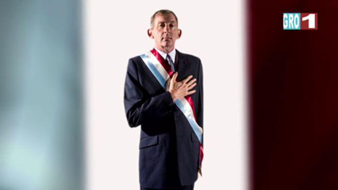 Notre président notre exemple  - Groland - CANAL+