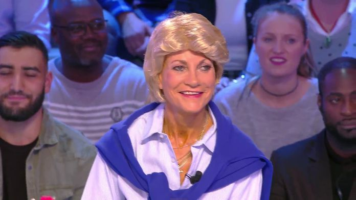A l'occasion de la venue de Sheila, les chroniqueurs étaient déguisés en chanteurs mythiques